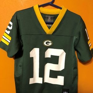 Youth SZ 8 NFL Green Bay Packers Aaron Rodgers